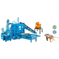 2014 new type QTY4-20A hydraulic automatic block making machine