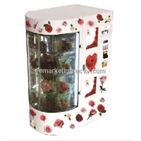 2014 new vending machine accepted coin,note,credit card for fruit,food,flower,shoes,wine