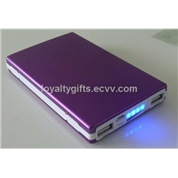 2014 the newest colorful solar energy power bank