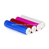 2200mah capacity power bank LP-204B with cylindrical design