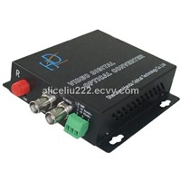 2 Channel video +1 Return data Video Digital Optical Converter