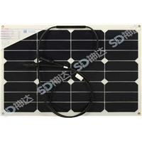 30W high efficiency mono solar panel