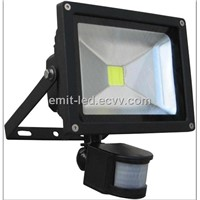 30w LED Motion sensor flood light 3 years warranty DC12/24V