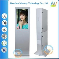 32 inch high brightness floor standing outdoor lcd advertising player