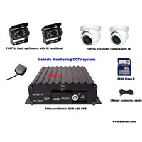 Hot Sale Economic 3G Mobile DVR & Mobile CCTV Security system Optional
