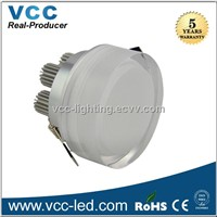 3w round led downlight,  Acrylic hig power led down light