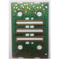 4 layers gold immersion PCB with 0.2mm hole