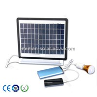 50w portable solar power system with charge function for home use