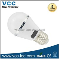 5W 230V Led bulb E27 dimmable