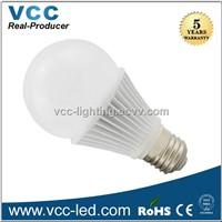 5W bulb e27, 270 degree 5W led light bulb dimmable
