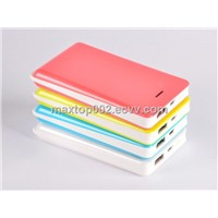 6000mAh Li-Polymer Fashion Piano Lacquer Power Bank for digital products
