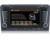 "6.2"" TFT LCD 2 din Car DVD player with Navigation system/BT/RADIO/USB"