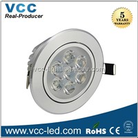 7 watts led downlight 3 years warranty led ceiling light