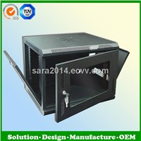 9U wall mount network cabinet