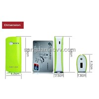 ABS 18650 Li-on Battery Smart Emrgency Power Bank For Mobile Phone