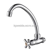 2015 Hot Sales ABS Chrome Plating Kitchen Mixer Tap KF-5001
