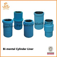 API Standard Triplex Mud Punp Liners Of Ceramic And Double Metal