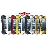 Aluminum Dirtproof/Shockproof/Waterproof With Gorilla Glass Iphone4 5C 5S Cases