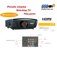 Amazing cheapest!!! Full HDMI USB home theater video Projector (DG-757)