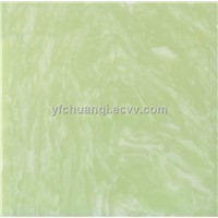 Artificial green onyx slabs and tiles