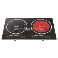 Best Convinient and Selling Induction Cooker with Infrared Cooker