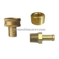 Brass hose barb fitting/Barbed connector/ Brass connector/ Hose connector