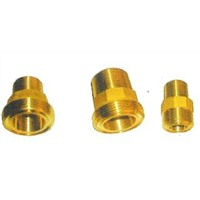 Brass male hose coupling/Hose connector/Brass Garden Hose Fitting/ Brass reducer male
