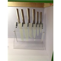 Ceramic Kitchen Knives with Stainless Steel Handles
