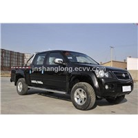 China Double Cabin Diesel Mini Truck 4x4 Pickup
