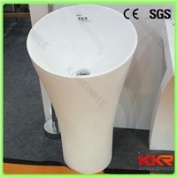 China Kingkonree pedestal wash basin ,bathroom wash basin