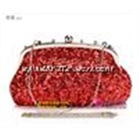 Chinese element handmade Spangle clutch bag,high quality popular women's evening bags