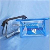 Clear pvc bag with zipper