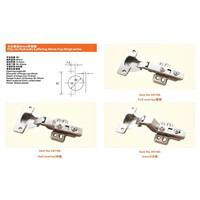 Clip-on Hydraulic buffering 40mm Cup Hinge