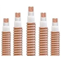 Copper Conductor Maineral Insulated Copper Tape Armoured Fireproof Cable