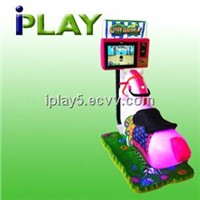 Crazy Horse -- Mini 17 inch LCD arcade attractive kiddy ride horse