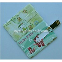 Credit card cheap usb flash drive wholesale