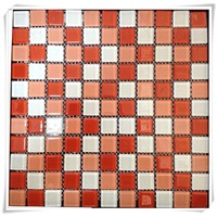 Crystal Glass Mosaic Wall Ttile 300X300X4MM