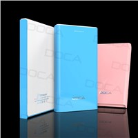 DOCA urtra thin D605 portable power bank for mobile phone
