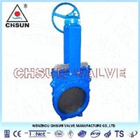 Ductile Iron High Pressure Valve, High Pressure Knife Gate Valve