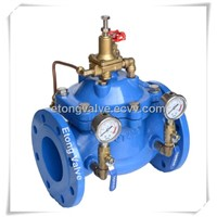 Ductile Iron Pressure Reducing Valve Prv For Water System