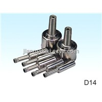 Eletroplated diamond core drill for glass drilling
