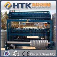 Field fence grass fence machine