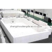 Fused cast AZS brick 41# for glass furnace