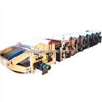 GM-610 six Roller Textile Waste Recycling machine