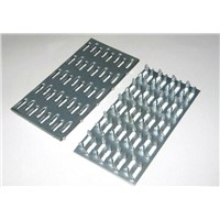 15mm Galvanized Double Row Barbed Nail Plate