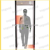 Garrett PD 6500 i walk through metal detector