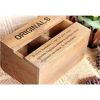 Handmade Natural Wooden Gift Box,Wooden Tea Box,Wooden Box