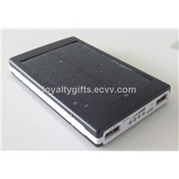 High Capacity solar energy Power Bank Charger Dual USB output for the mobile phone