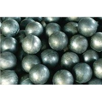 High and low chrome cast steel ball