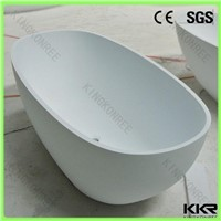 High quality acrylic solid surface free standing bathtub